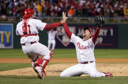 The Phillies Win the Series 2008